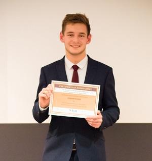 Joseph HUssey - bronze winner