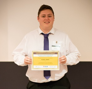 Russell Smith - Gold Winner