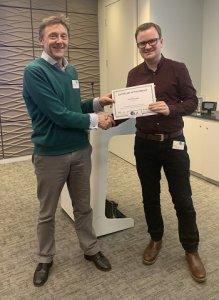 Jason Dalrymple - SLA Student Awards Masters Winner