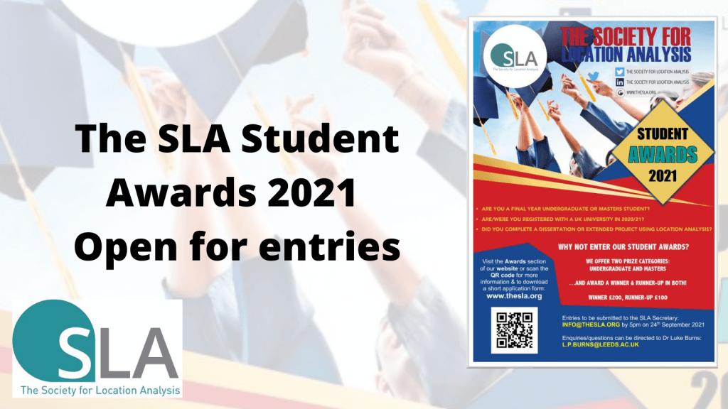 SLA Student Awards 2021