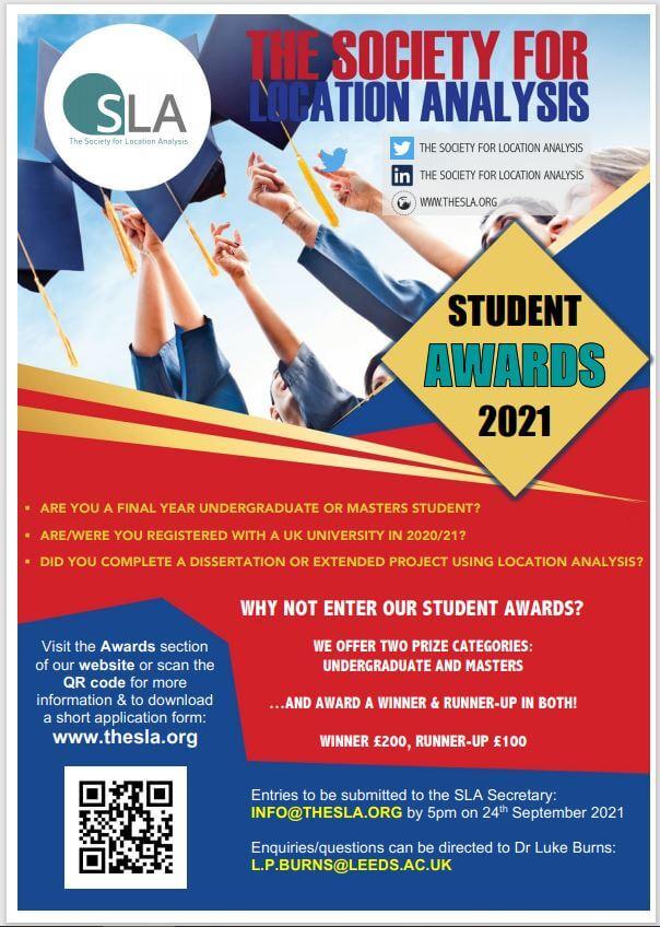 The SLA Student Awards 2021